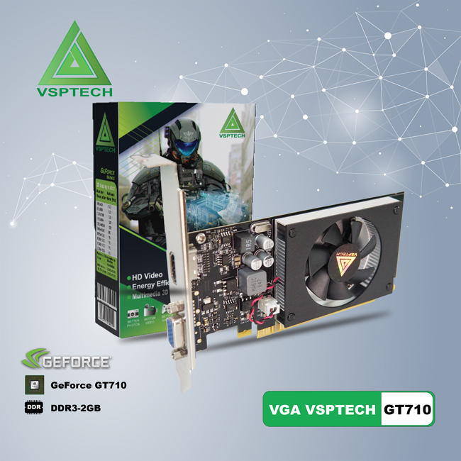 VGA GeForce GT710 (VSP GT710-2GD3 64 bit LP)