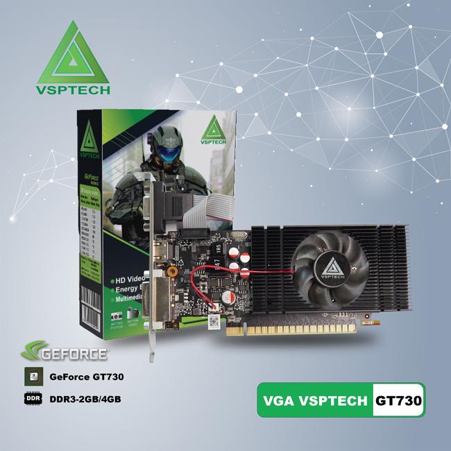 VGA GeForce GT730 (VSP GT730-4GD3 LP)