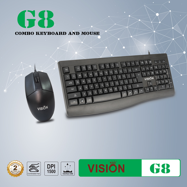 COMBO MOUSE & KEYBOARD G8