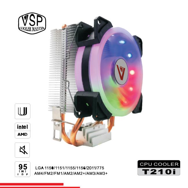 Fan CPU VSP Cooler Masster T210i