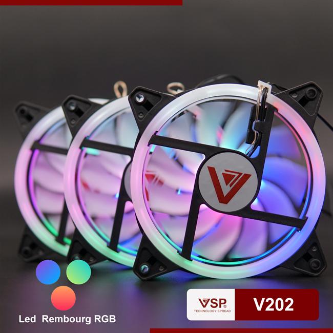 Fan led 2 mặt VSP V202