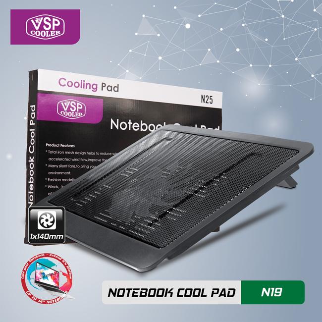 Notebook cool pad N19