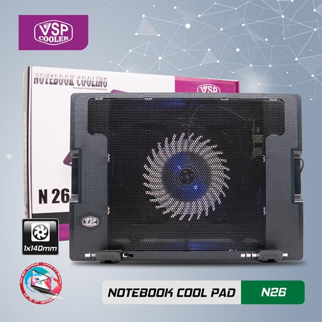 Notebook cool pad N26