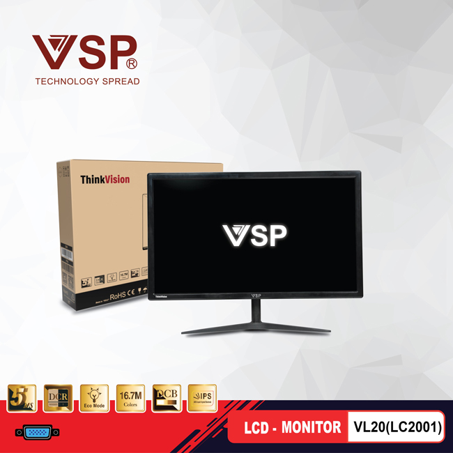 HD LCD VSP monitor 20 inch VL20(LC2001)
