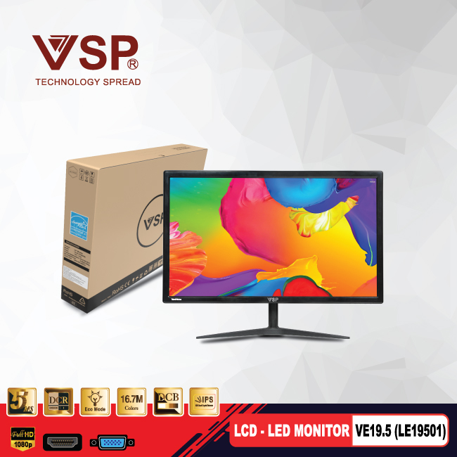LED LCD VSP monitor 19.5 inch VE19.5 (LE19501)
