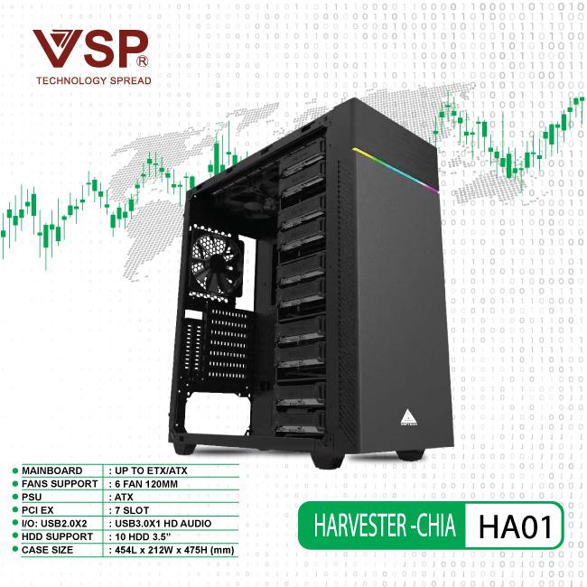 Case VSP Havester - CHIA HA01