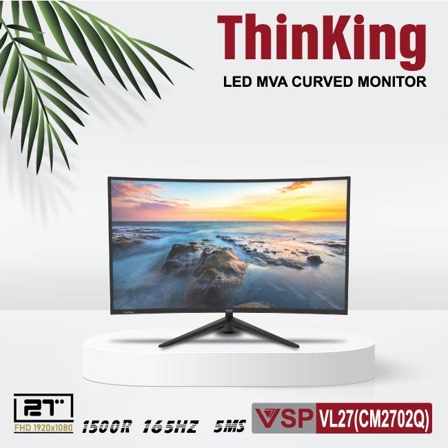 Màn hình cong VSP Thinking Cuver monitor 27inch (CM2702Q)