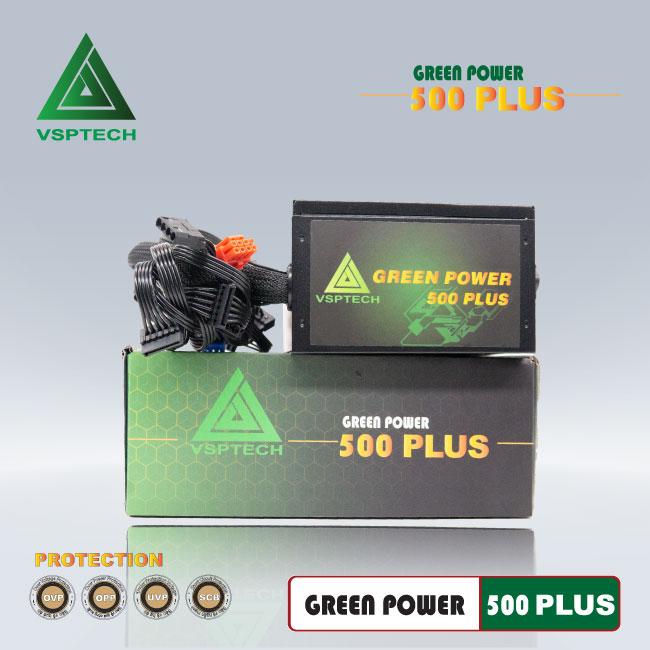 Nguồn VSPTECH GP500W  PLUS công suất thực