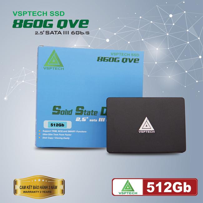 Ổ cứng SSD VSPTECH 860G QVE512Gb