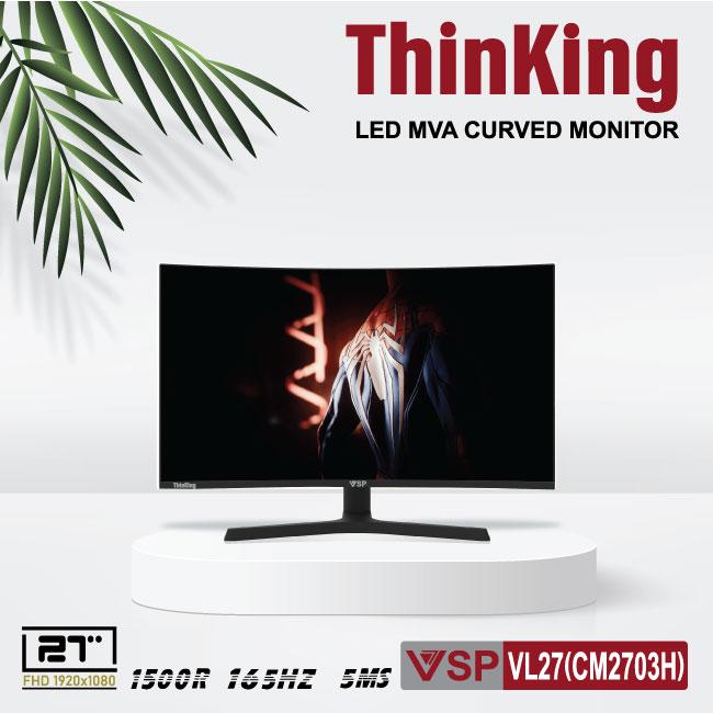 Màn hình cong VSP Thinking Cuver monitor 27inch (CM2702H)