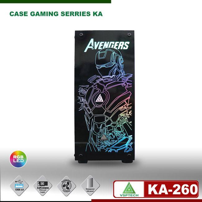 Case gaming VSPTECH KING ARMS KA-260