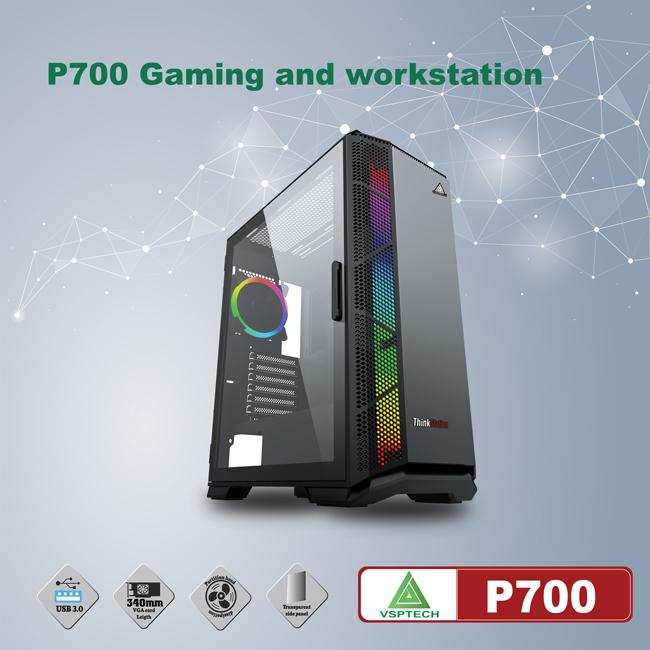 Case VSPTECH P700 for gaming and workstation