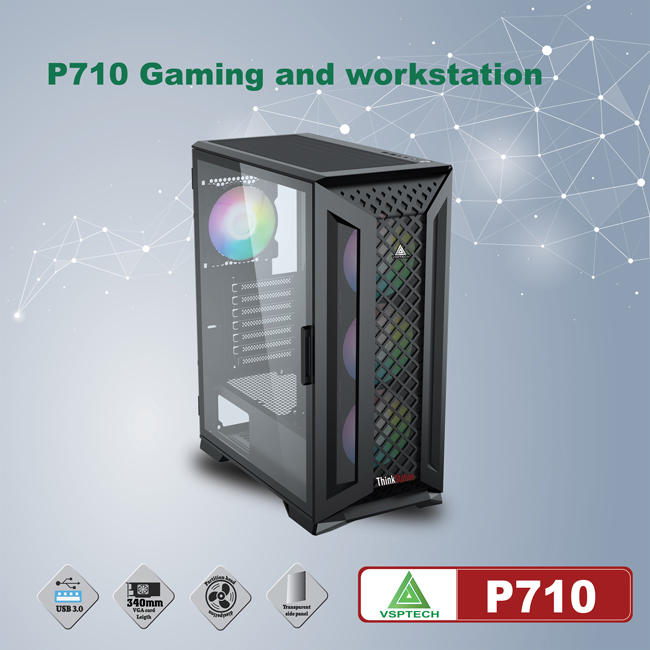 Case VSPTECH P710 for gaming and workstation