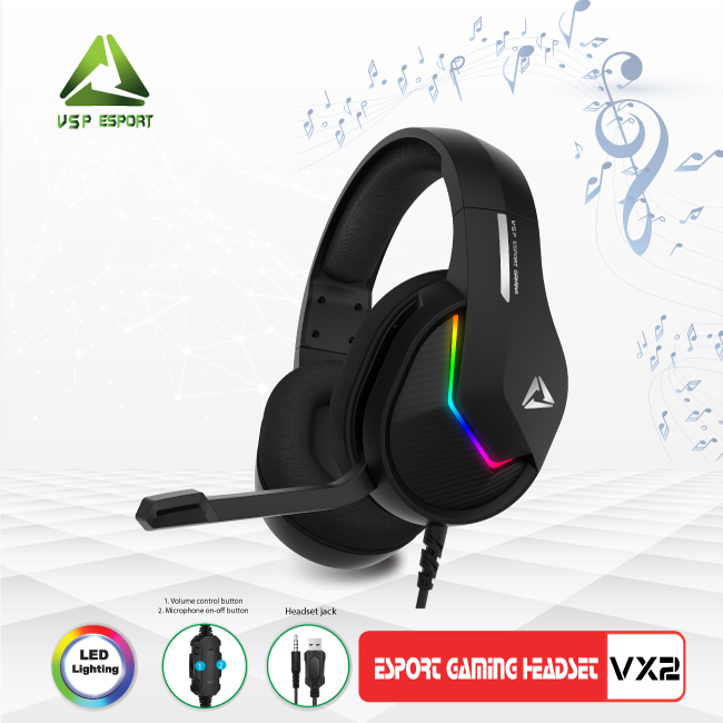 HEAPHONE ESPORT GAMING VX2