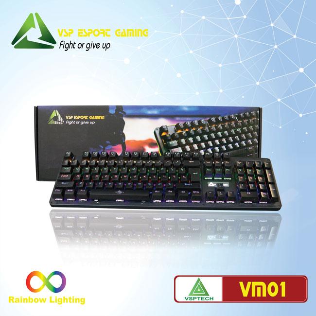 Bàn phím VSP eSport Gaming VM01
